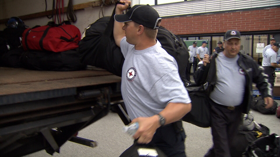 For the first time since Hurricane Katrina, the Heavy Urban Search and Rescue team is being deployed outside B.C. to help. (CTV News)