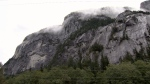 Squamish RCMP say a base jumper died after jumping off the Stawamus Chief Sunday morning.