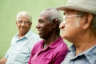 Researchers found that while cognitive and physical abilities fade in old age, mental health – including mood, sense of well-being, and ability to handle stress – improves until the very end of life. (Diego Cervo / Shutterstock.com)