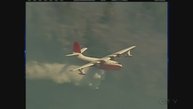 Petition to keep iconic water bombers flying