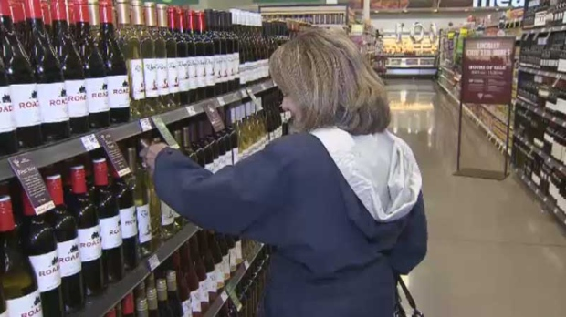CTV Vancouver: Wine hits local supermarket