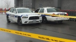 Two Peel police cruisers are seen in this undated photo.