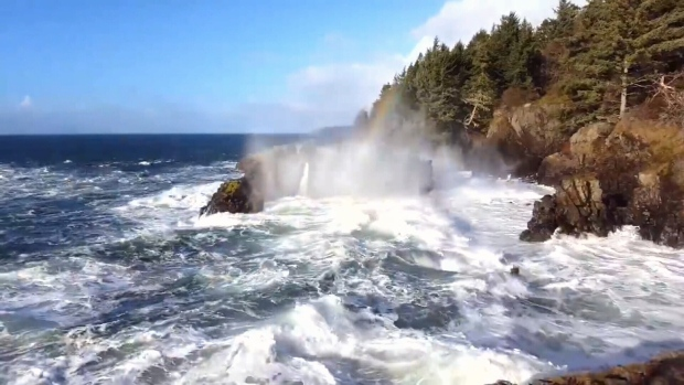 Another storm set to slam b c s south coast this weekend for Landscaping rocks victoria bc