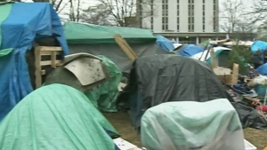 Deadline set for courthouse campers to clear out