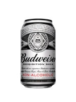 A can of Budweiser 'Prohibition Brew' non-alcoholic beer is seen in this undated handout photo. Budweiser is launching its first non-alcoholic beer since Prohibition in Canada in the hopes of sating a growing thirst for near-beer. (THE CANADIAN PRESS/HO)