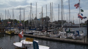 Every boat will be equipped with a GPS transmitter, which means you can follow the race in real-time online. May 26, 2016 (CTV Vancouver Island)