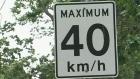 U-turn? Transit says 40 km/h limit hurting service