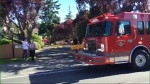 Fire crews were called to a fire in the 1700-block of McKenzie Ave. near Tuscany Village around 5 p.m. June 19, 2016 (CTV Vancouver Island)