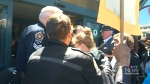 Heated confrontation at housing ministers' meetin