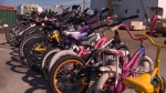 The initiative is part of the 'Polar Bike Project' – an employee-driven charity that will deliver the donated bikes to kids in an isolated community in Nunavut. June 30, 2016 (CTV Vancouver Island)