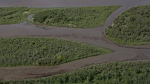 Oil is seen on the North Saskatchewan river near Maidstone, Sask on Friday July 22, 2016. Husky Energy has said between 200,000 and 250,000 litres of crude oil and other material leaked into the river on Thursday from its pipeline. (THE CANADIAN PRESS / Jason Franson)
