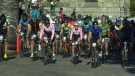 Around 1500 cyclists are participating in this year's Tour De Victoria bike ride. August 21, 2016 (CTV Vancouver Island)