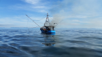 A fishing vessel towing another boat had an engine fire off Ucluelet. (MARPAC)