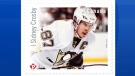 Six of Canada's greatest hockey forwards, including current Team Canada captain Sidney Crosby, are being immortalized on their own postage stamps. (Canada Post)