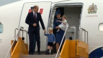 Royals arrival