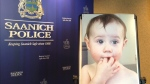 Two-year-old Kaydance Etchells was allegedly abducted by her mother Lauren Etchells in May, police say. Sept 26, 2016 (CTV Vancouver Island)