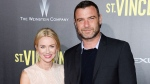 """In this Oct. 6, 2014 file photo, Naomi Watts and Liev Schreiber attend the """"St. Vincent"""" premiere in New York. (Photo by Evan Agostini/Invision/AP)"""