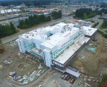 The Comox Valley Hospital, located in Courtenay on Lerwick Road, will be 428,400 square feet in size with 153 beds.