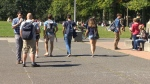 The university said it will hire a specialized co-ordinator to focus on prevention programs. Sept. 29, 2016 (CTV Vancouver Island)
