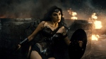 """This image released by Warner Bros. Entertainment shows Gal Gadot as Wonder Woman in a scene from, """"Batman V. Superman: Dawn Of Justice."""" (Warner Bros. Entertainment via AP)"""
