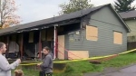 Arson suspected in Nanaimo apartment blaze