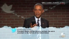 Obama reads 'Mean Tweets'