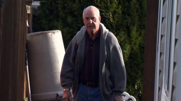 Andre 'Andy' Van Goor, 75, was arrested on charges of sexual exploitation and sexual assault earlier this week. Jan. 20, 2017. (CTV Vancouver Island)