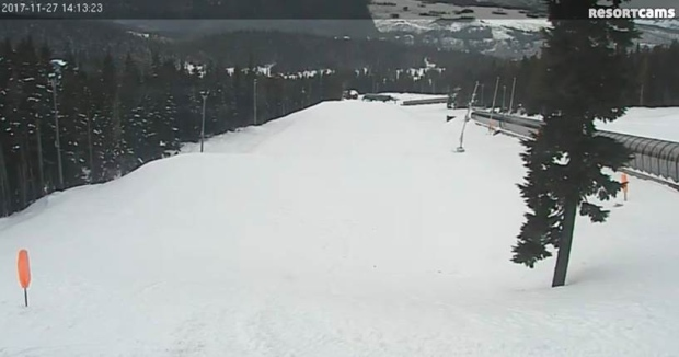 snow at mount washington nov. 27