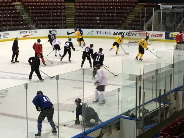 team canada player selection camp